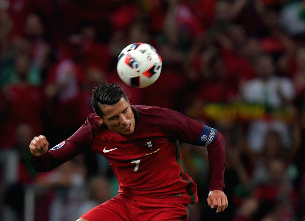MARSEILLE, July 1, 2016 - Cristiano Ronaldo of Portugal competes during the Euro 2016 quarterfinal match between Portugal and Poland in Marseille, France, June 30, 2016.