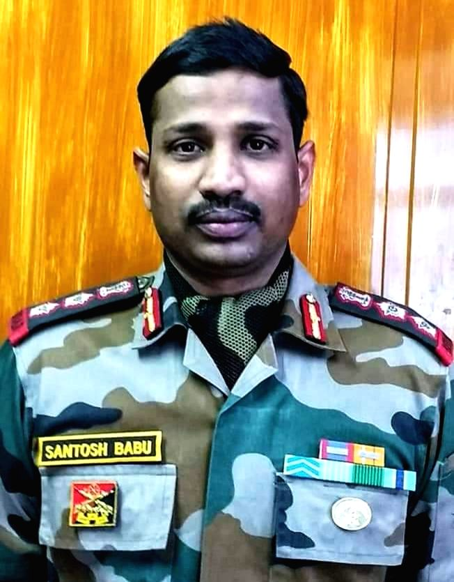 Martyred colonel's body flown to Hyderabad.