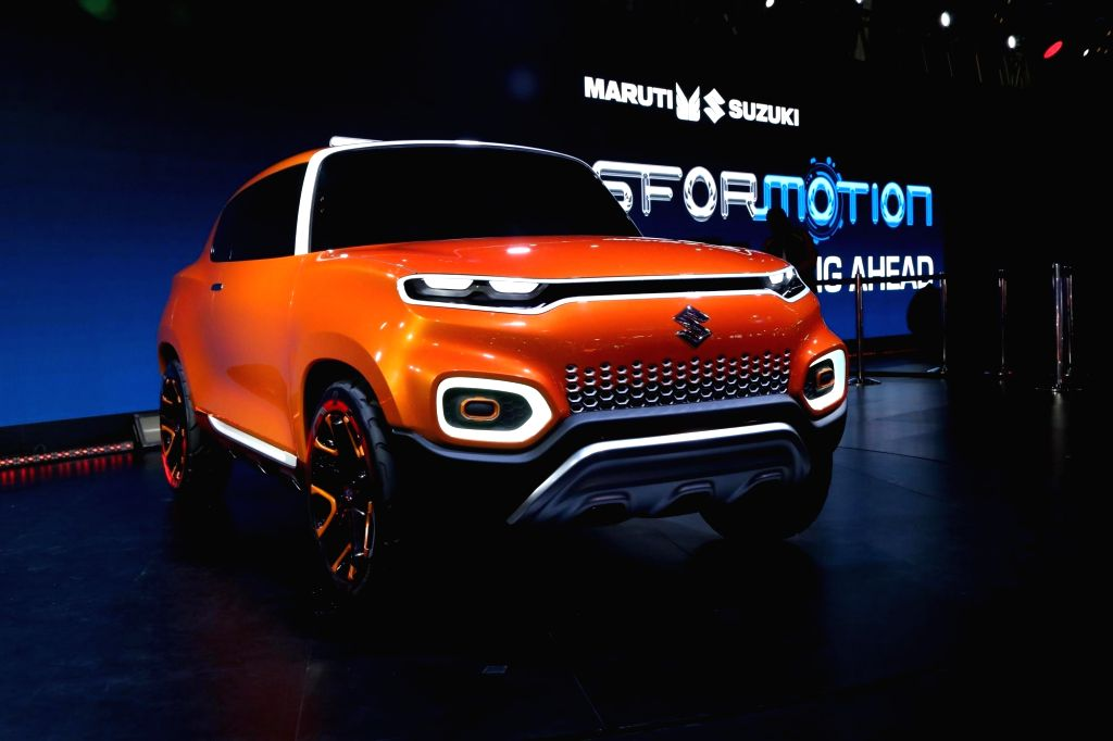 Maruti Suzuki Concept Future S. (Photo: Amlan Paliwal/IANS)