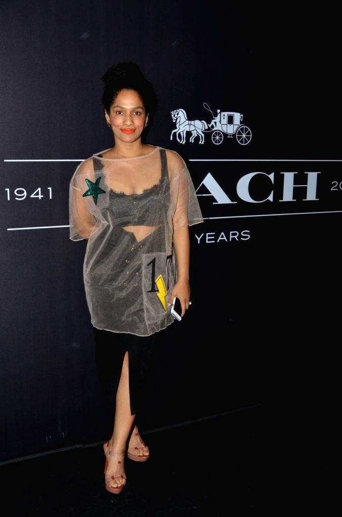 Masaba during the Coach launch celebrations in Mumbai, on Aug 4, 2016. Coach celebrates  the launch of its first store in India.