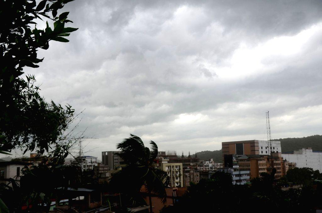 Massive storm hit Guwahati on Sept 17, 2017.