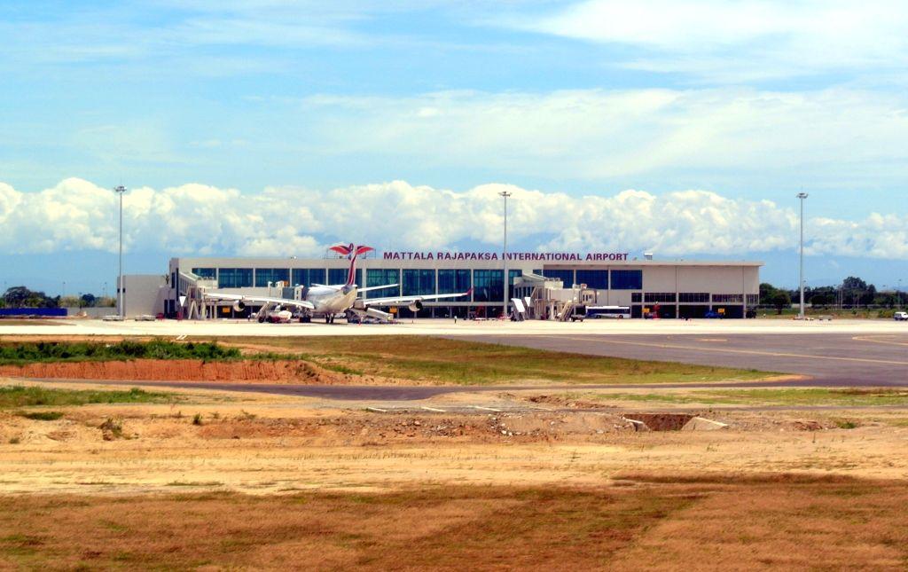 Mattala Rajapaksa International Airport.