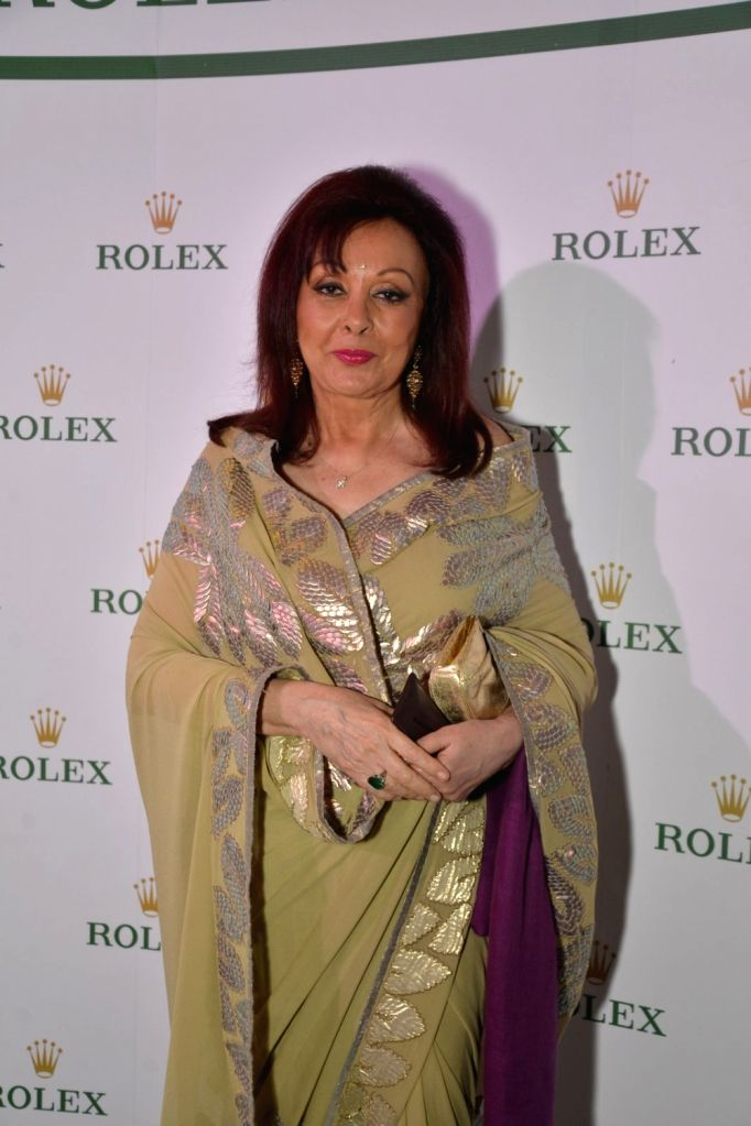 Maureen Wadia at Rolex dinner party in Mumbai on April 17, 2016.
