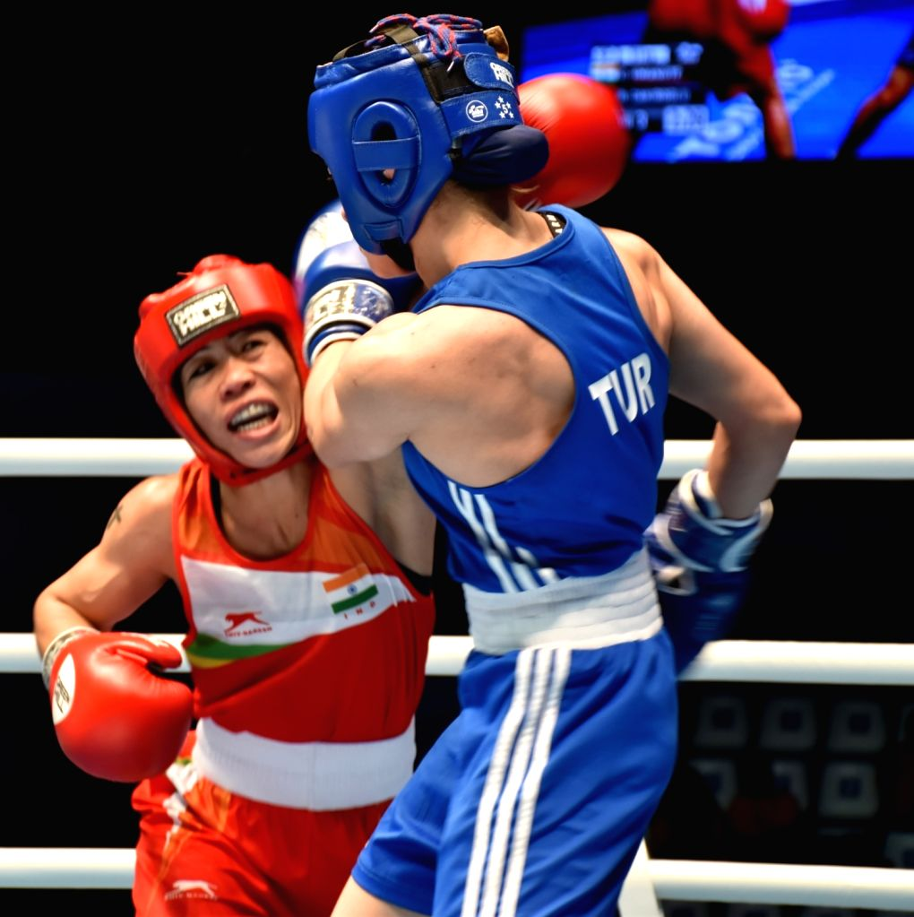 MC Mary Kom ends her World Championships campaign with a bronze medal and an overall tally of 8 staggering medals., making her the highest medal winner in Men's and Women's WC boxing. - Mary Kom