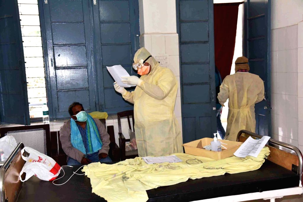 Measures issued to combat Corona Virus in Srinagar. (Photo: IANS)