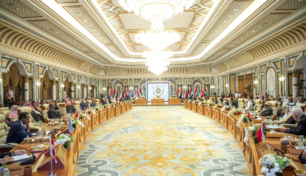 MECCA (SAUDI ARABIA), May 31, 2019 An emergency Arab League summit is held in Mecca, Saudi Arabia, on May 30, 2019. The Arab League and the Gulf Cooperation Council on Thursday called on ... - Ibrahim A