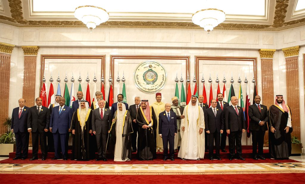 MECCA (SAUDI ARABIA), May 31, 2019 The Arab League leaders pose for photos during an emergency Arab League summit in Mecca, Saudi Arabia, on May 30, 2019. The Arab League and the Gulf ... - Ibrahim A