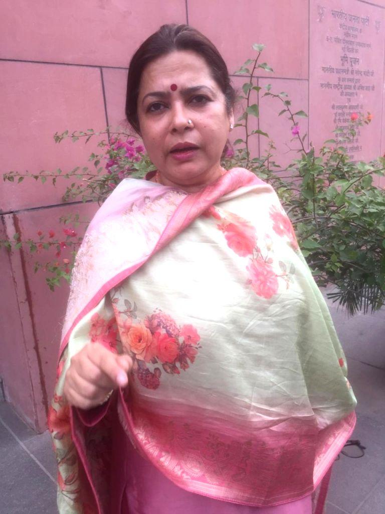 Meenakshi Lekhi. (File Photo: IANS)