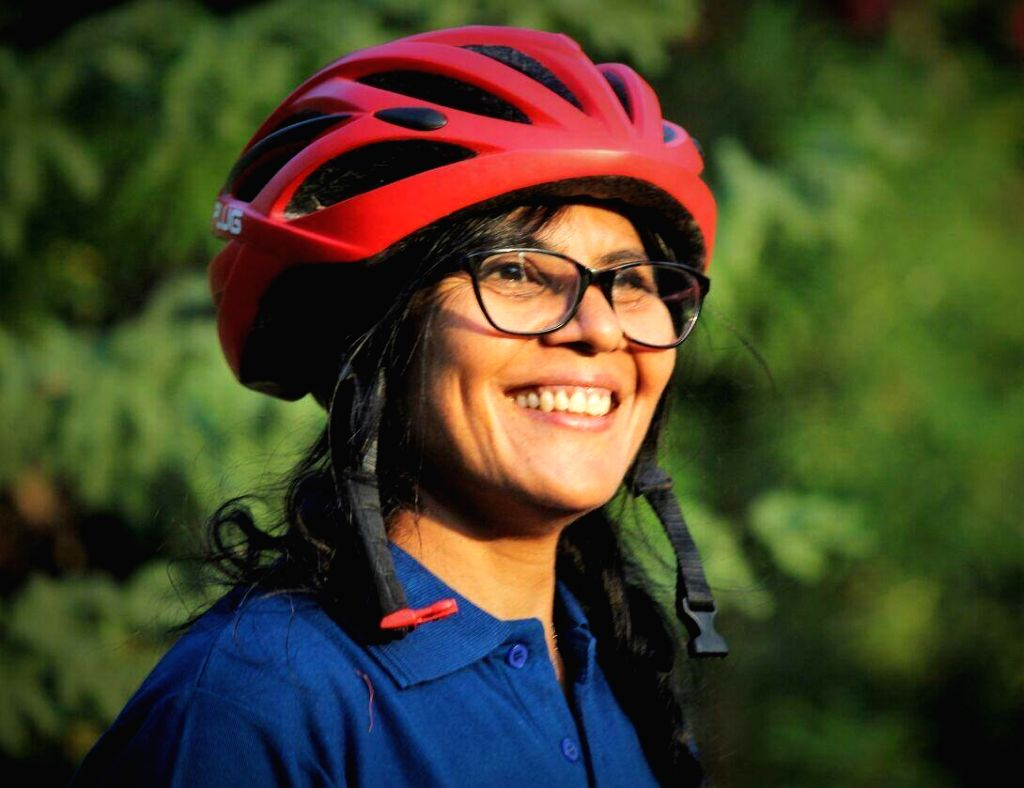 Meet the woman who choose cycling as her career at 51 years of her age