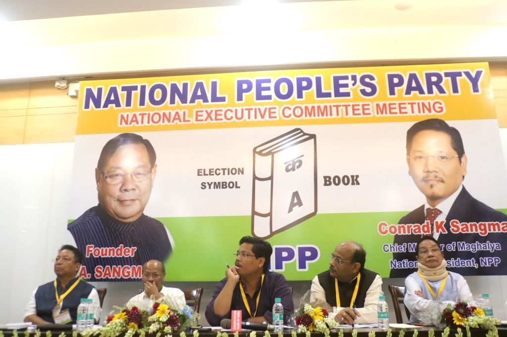 Meghalaya Chief Minister and National People's Party (NPP) president Conrad K. Sangma during the party's National Executive Committee Meeting, in New Delhi on July 21, 2018.