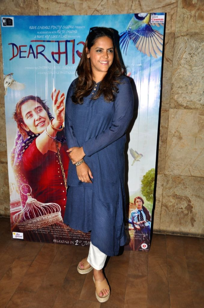 Meghna Ghai Puri, President, Whistling Woods International during the screening of film Dear Maya on June 4, 2017.