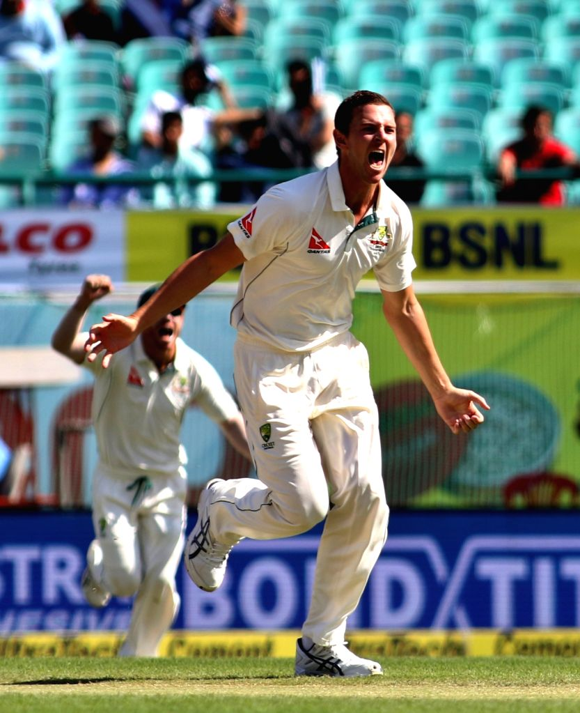 Melbourne, April 22 (IANS) Australia speedster Josh Hazlewood feels playing the Test series against India at just one venue won't be ideal after the same was suggested by Cricket Australia chief Kevin Roberts on Tuesday.