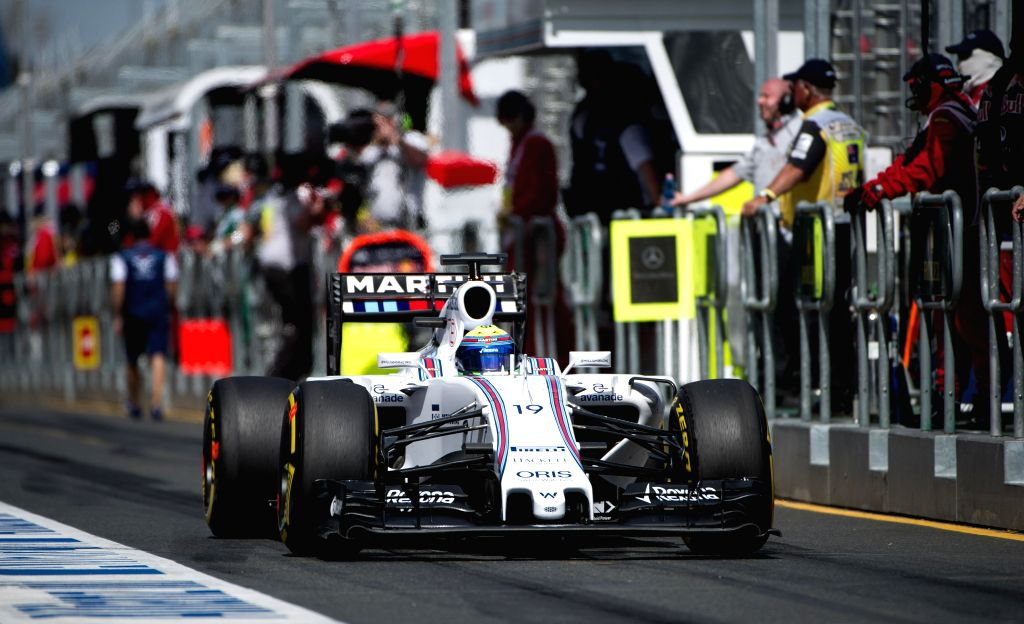 Williams Martini Racing Formula One driver Felipe Massa of Brazil competes during the final practice session ahead of Australian Formula One Grand Prix at Albert ...
