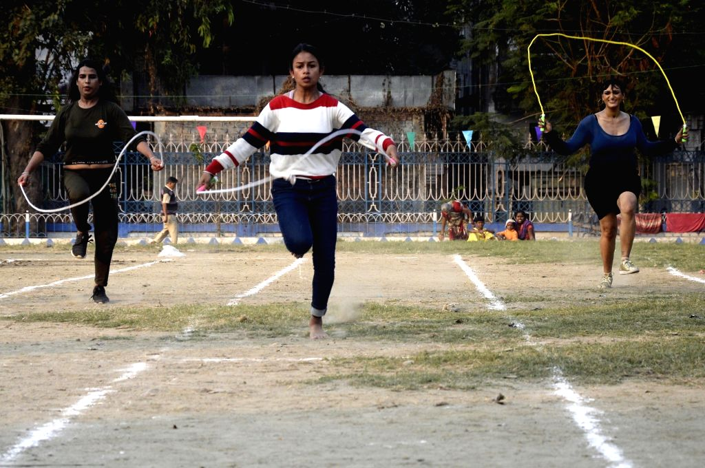 Members of LGBT community participate in various sports activities during queer sports and parents meet organised to celebrate Kolkata pride, on Dec 7, 2019.