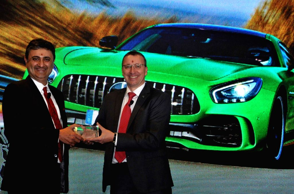 Mercedes-Benz India Managing Director and CEO Martin Schwenk during a press conference in Kolkata, on March 6, 2019.