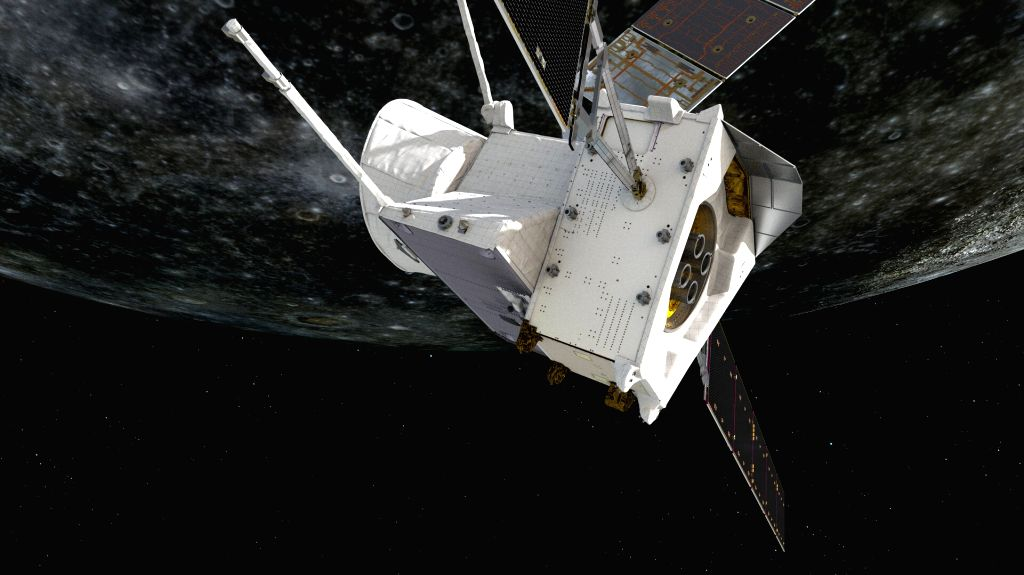 Mercury pillar ESA/BepiColombo/MTM. BepiColombo- ESA