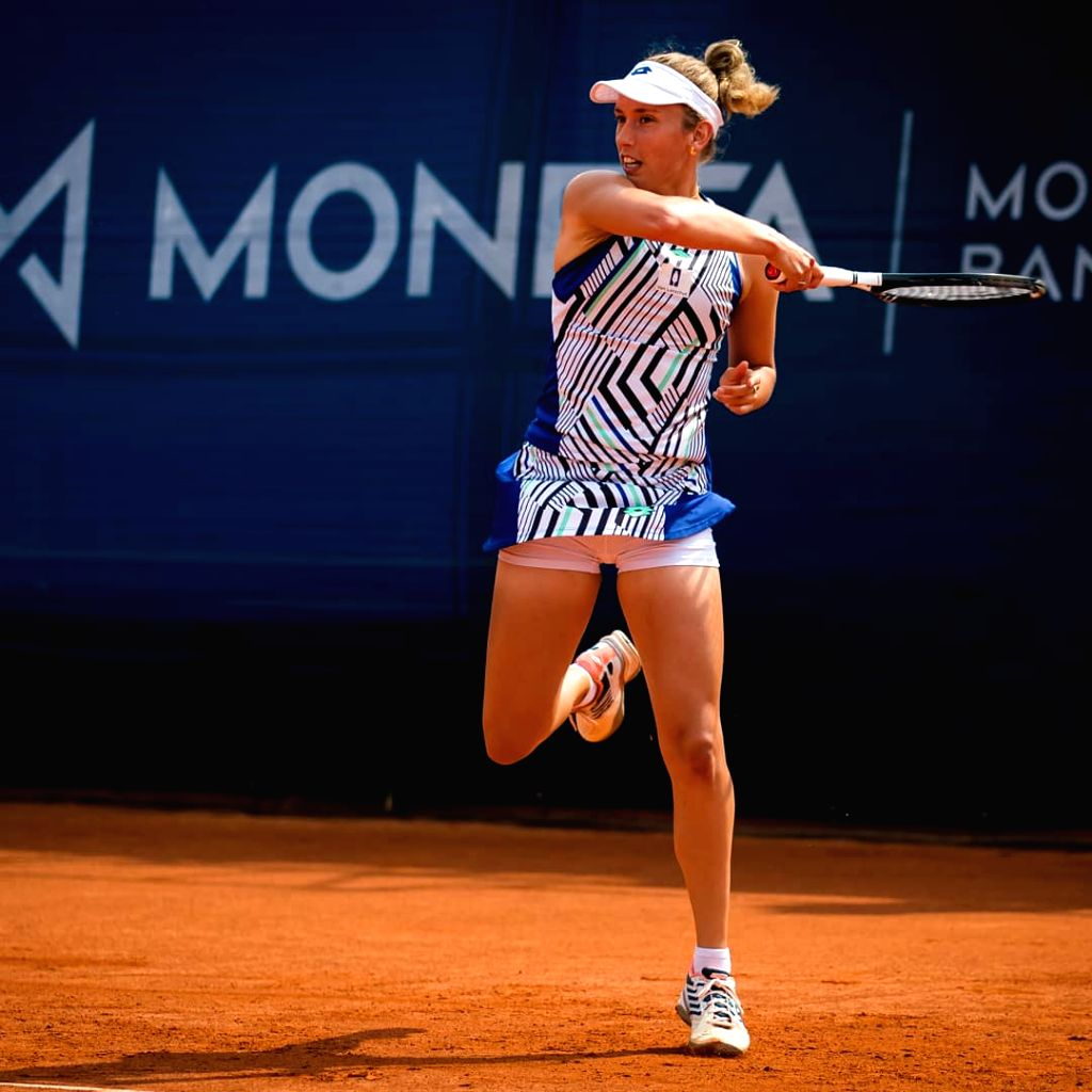 Mertens stuns Halep, to take on Sabalenka in quarters
