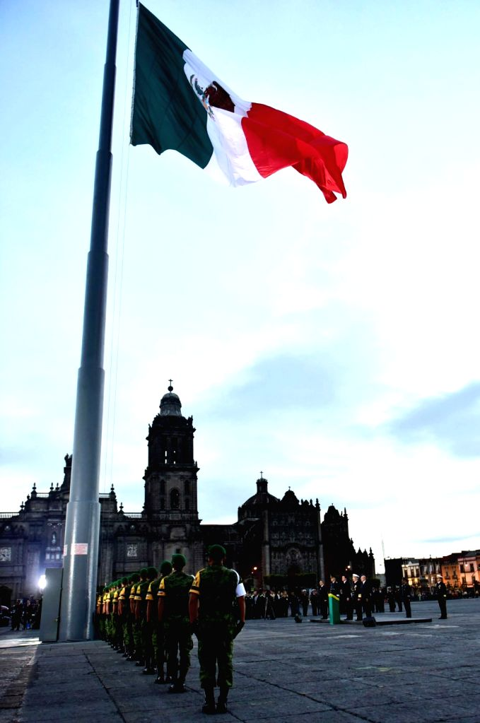 MEXICO CITY, Sept. 20, 2016 - A ceremony is held in Mexico City, capital of Mexico, on Sept. 19, 2016 to mark the 31st anniversary of the 1985 8.1-magnitude earthquake killing thousands of people.