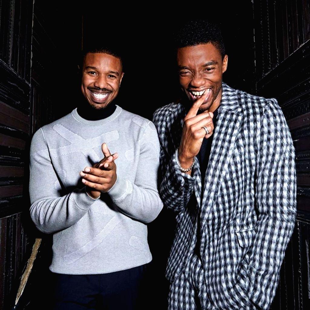 Michael B. Jordan wishes he 'had more time' with Chadwick Boseman