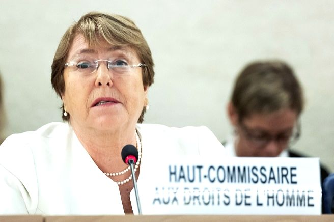 Michelle Bachelet. (Photo: UN/IANS)