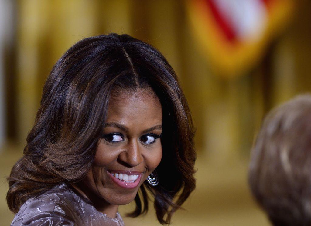 Michelle Obama wins a Grammy