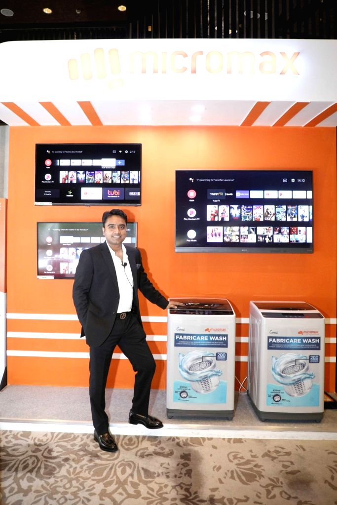 Micromax Informatics Ltd, Consumer Electronics, Director Rohan Agarwal unveils the new range.