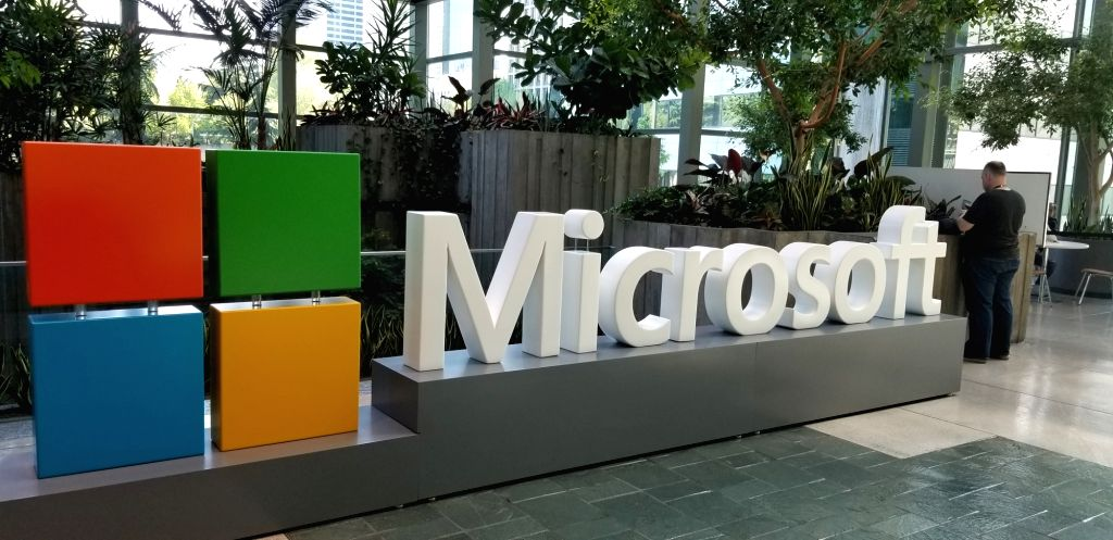 Microsoft. (File Photo: IANS)