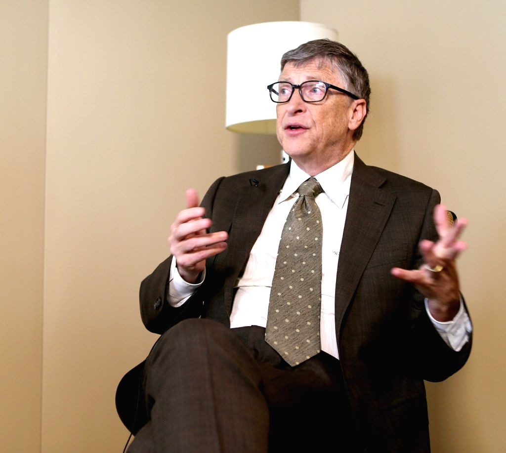 Microsoft founder Bill Gates. (File Photo: IANS)
