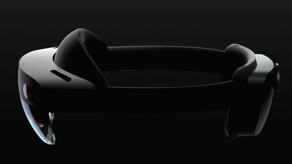 Microsoft mixed reality headset HoloLens 2.