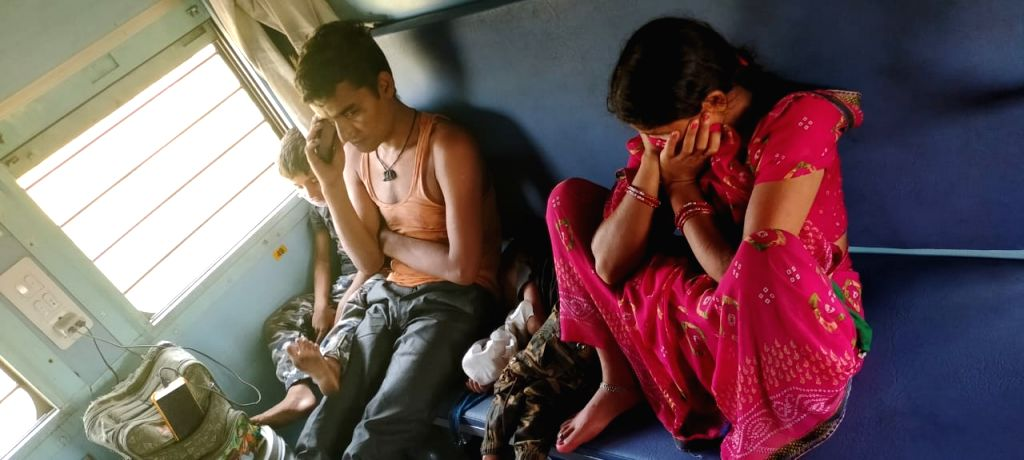Migrants on 'Ram bharose' journey hit hard as IR re-routes trains.