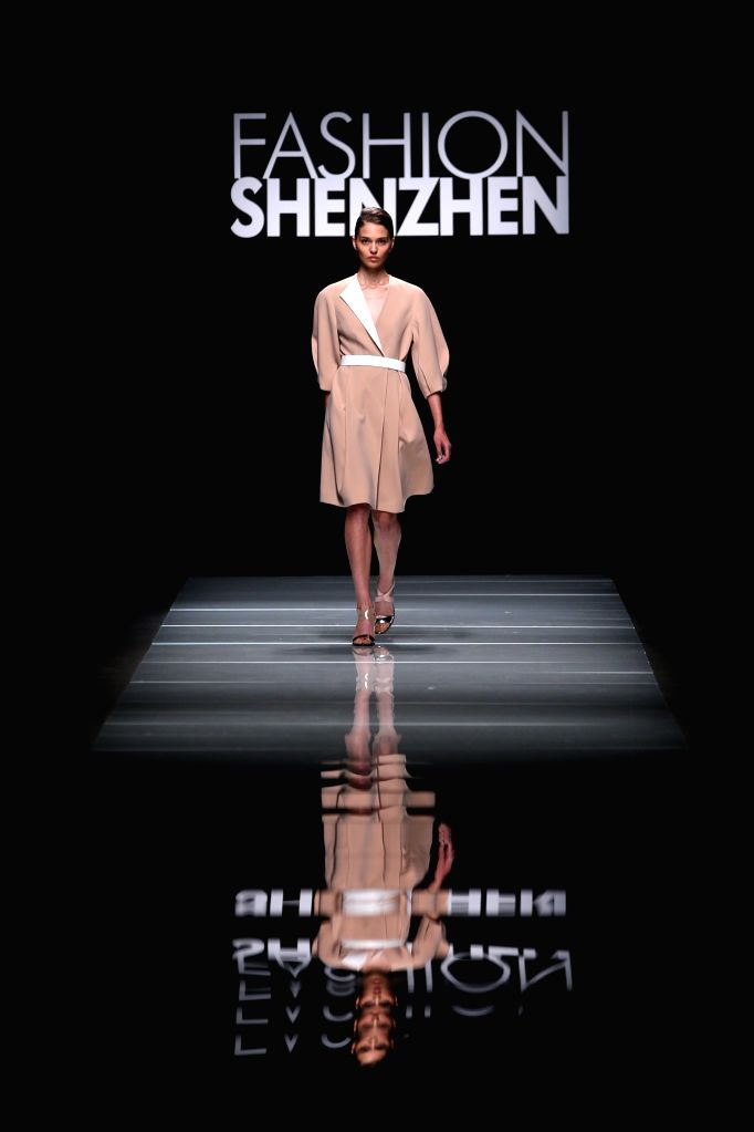 MILAN, Sept. 27, 2016 - A model presents a creation at the Ellassay fashion show, part of the Fashion Shenzhen event, during Milan Fashion Week Spring/Summer 2017 in Milan, Italy, Sept. 26, 2016.
