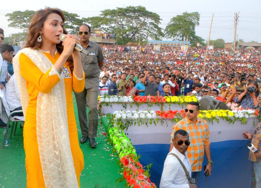 Mimi Chakraborty. (Photo: IANS) - Mimi Chakraborty
