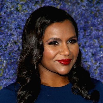 Mindy Kaling. (Photo: Twitter/@mindykaling)