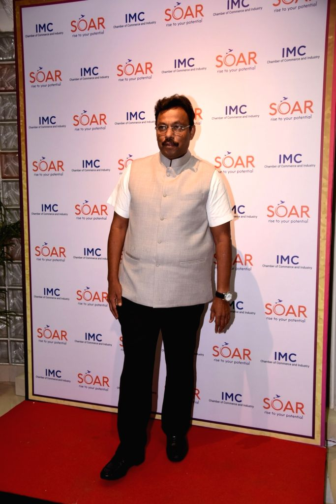 Minister Of Higher & Technical Education Marathi Bhasha Cultural Affairs Government of Maharashtra Shri Vinod Tawde Add Sparkle to 50th Year Celebrations of the IMC Ladies' Wing in mumbai ... - O