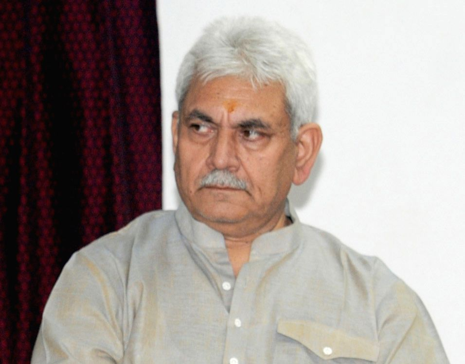 Minister of State for Communications (Independent Charge) and Railways Manoj Sinha. (File Photo: IANS) - Manoj Sinha