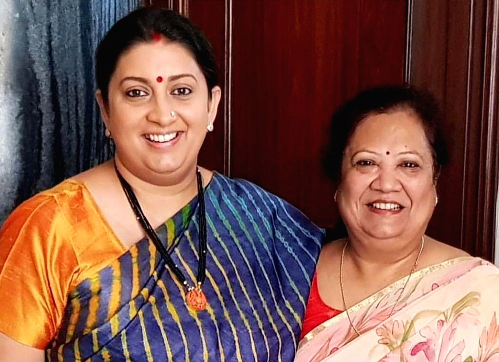 Minister of Women and Child Development and Textiles Smriti Irani, shared with her five lakh Instagram followers two then-and-now pictures to showcase how her physical appearance changed over the years. In the two photo, the Minister is seen with BJP - Smriti Irani