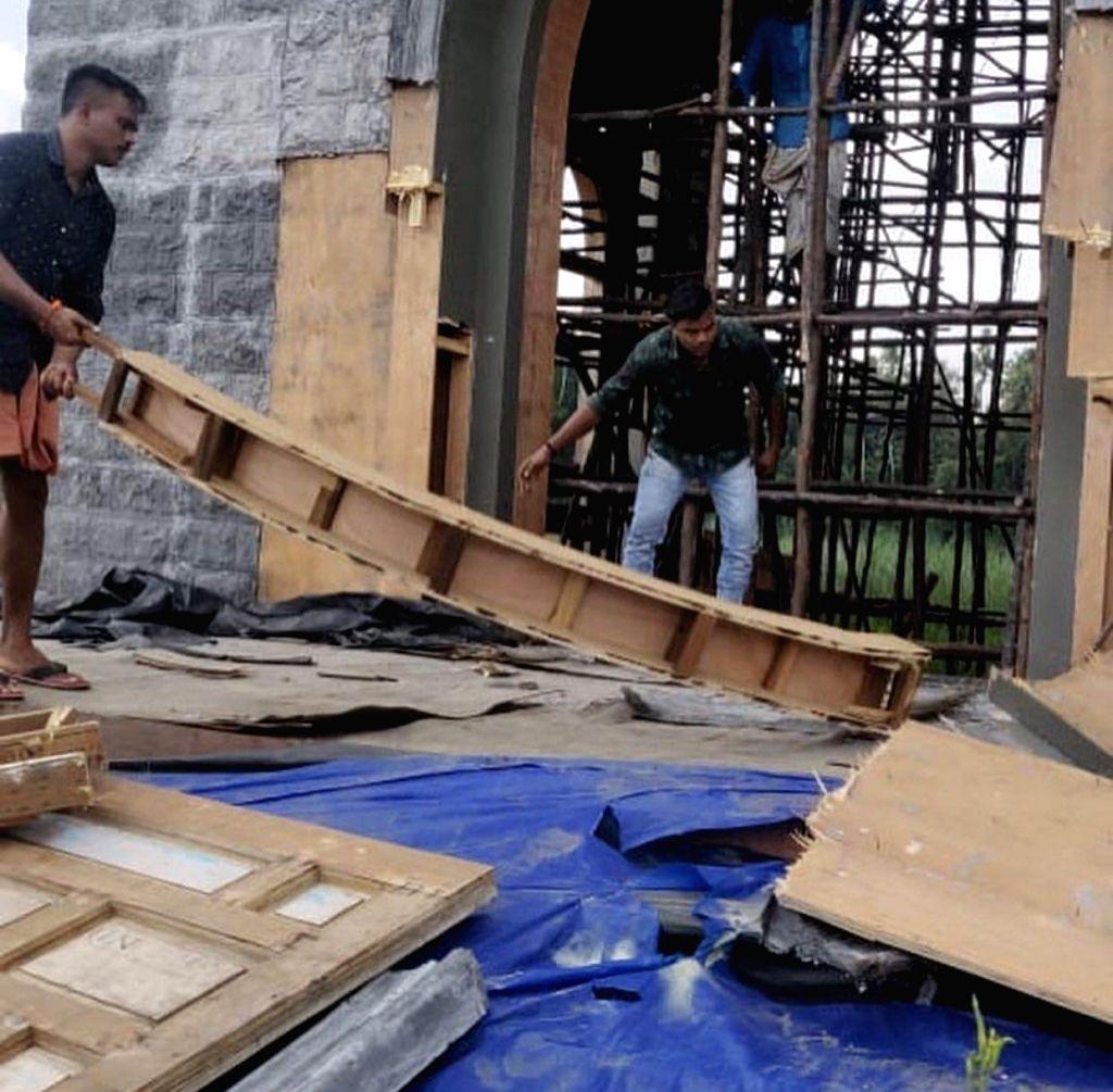 'Minnal Murali' set vandalised. (File Photo: IANS)