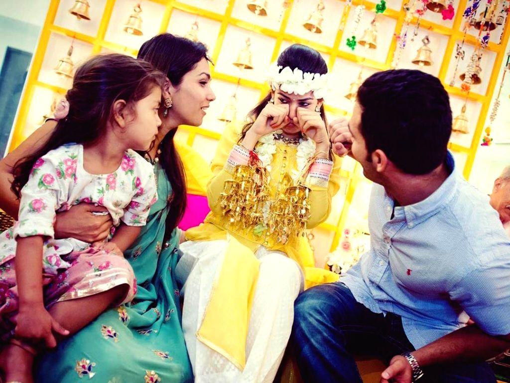 Mira Rajput missing her wedding celebrations.