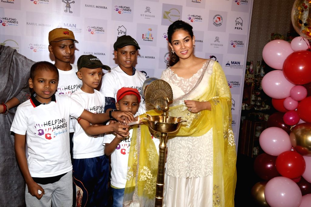 Mira Rajput, wife of actor Shahid Kapoor inaugurates a programme organised by Helping Hands in Mumbai, on Feb 13, 2019. - Shahid Kapoor