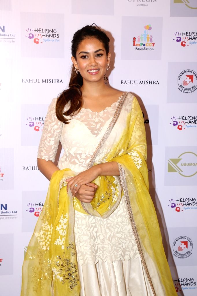 Mira Rajput, wife of actor Shahid Kapoor during a programme organised by Helping Hands in Mumbai, on Feb 13, 2019. - Shahid Kapoor