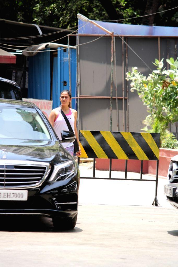 Mira Rajput, wife of actor Shahid Kapoor seen in Mumbai's Bandra, on May 1, 2019. - Shahid Kapoor