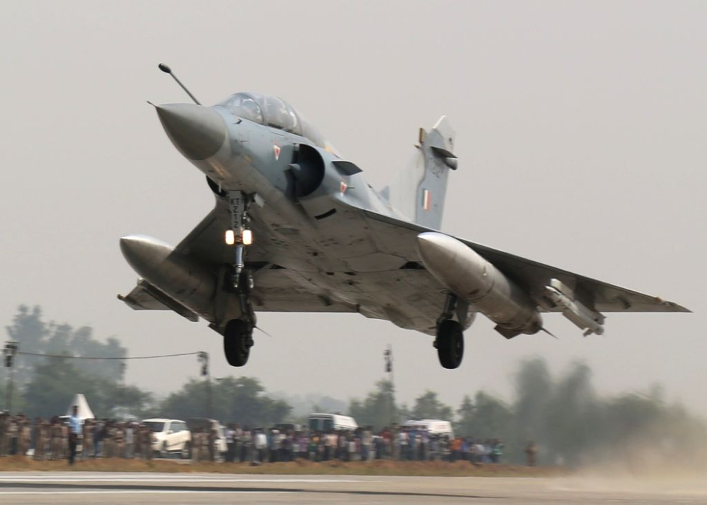 Mirage 2000 fighter aircraft. (File Photo: IANS/DPRO)