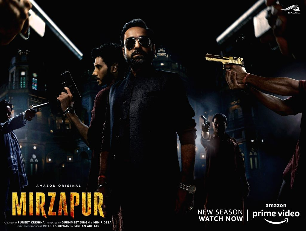 Mirzapur 2 makers issue apology to author Surender Mohan Pathak for hurting sentiments. (Photo: Twitter@excelmovies) - Surender Mohan Pathak