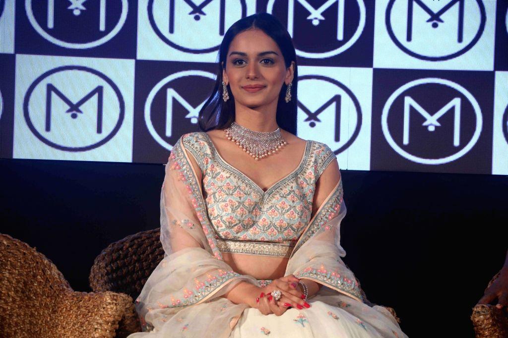 Miss World Manushi Chhillar announced the brand ambassador of Malabar Gold & Diamonds in Mumbai on April 5, 2018.