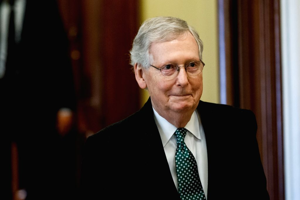 Mitch McConnell. (Xinhua/Ting Shen/IANS)
