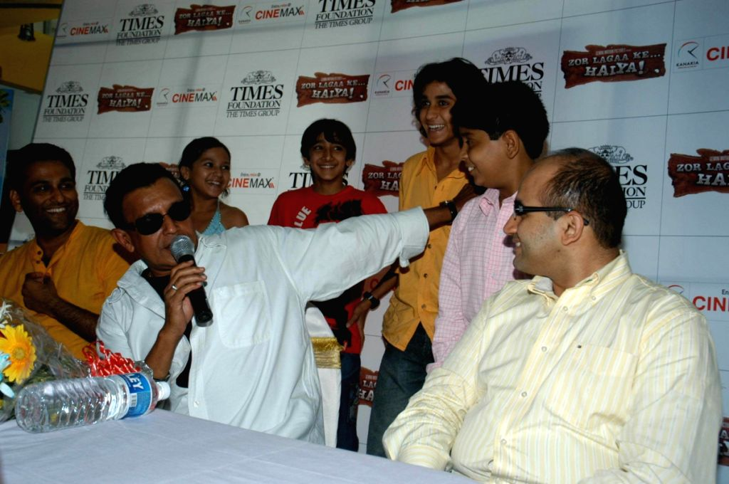 Mithun Chakraborty at the promotional event of movie Zor Laga Ke Haiya.