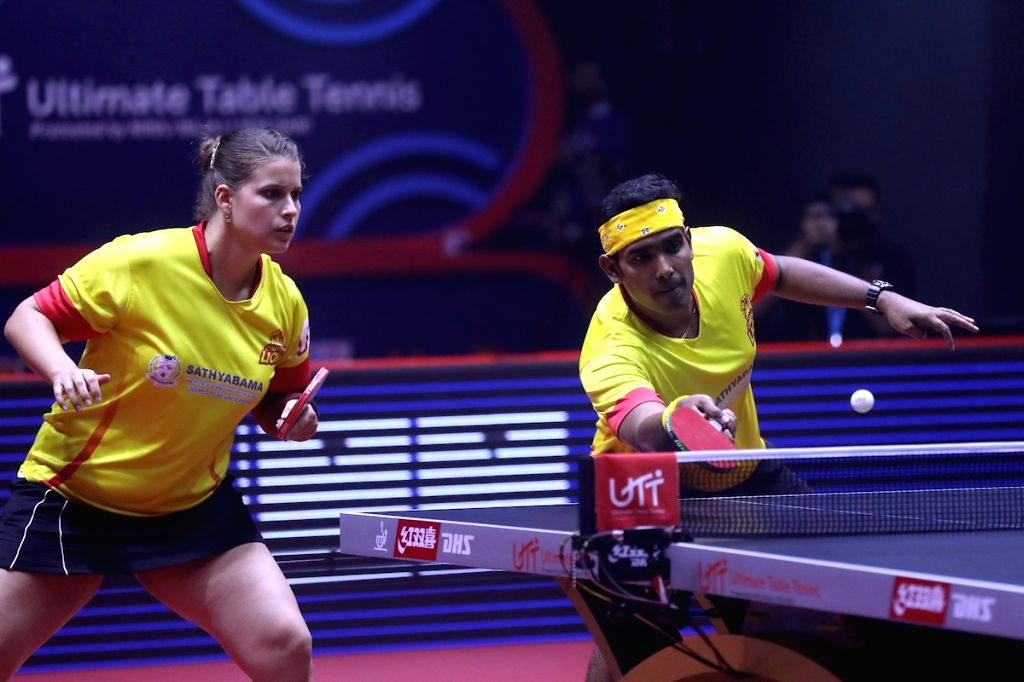 Mixed Doubles - Manav Thakkar/Doo Hoi Kem lost to Sharath Kamal/Petrissa Solja  1-2 (8-11, 8-11, 11-7)