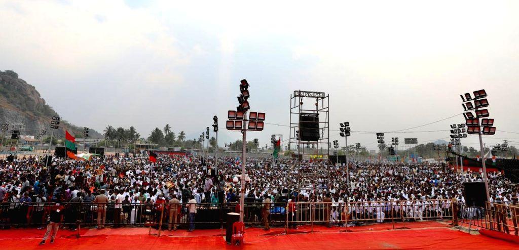MK Stalin, Congress MP Rahul Gandhi, Public meet - Rahul Gandhi