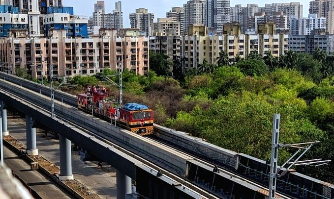 MMRDA to conduct test-runs for 2 elevated Metro lines next week