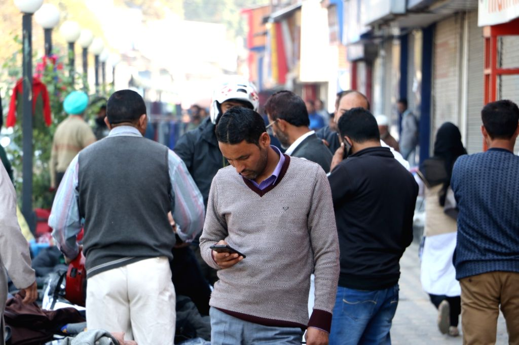 Mobile phones banned in COVID hospitals.